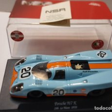 Slot Cars: COCHE SLOT NSR PORSCHE 917K 24H LE MANS 1970 EN BLISTER ORIGINAL. Lote 217370436