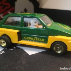 Slot Cars: COCHE PISTA HORNBY UK INGLÉS CHAXIS MG METRO 6R4. Lote 217406008