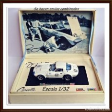 Slot Cars: SLOT MONOGRAM REVELL CORVETTE GRAND SPORT ROAD AMERICA 1964. Lote 146082514