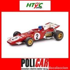 Slot Cars: POLICAR FERRARI 312 B2 #2 JACKY ICKX WINNER ZANDVOORT GP 1971 CAR05A SLOT.IT. Lote 218105895