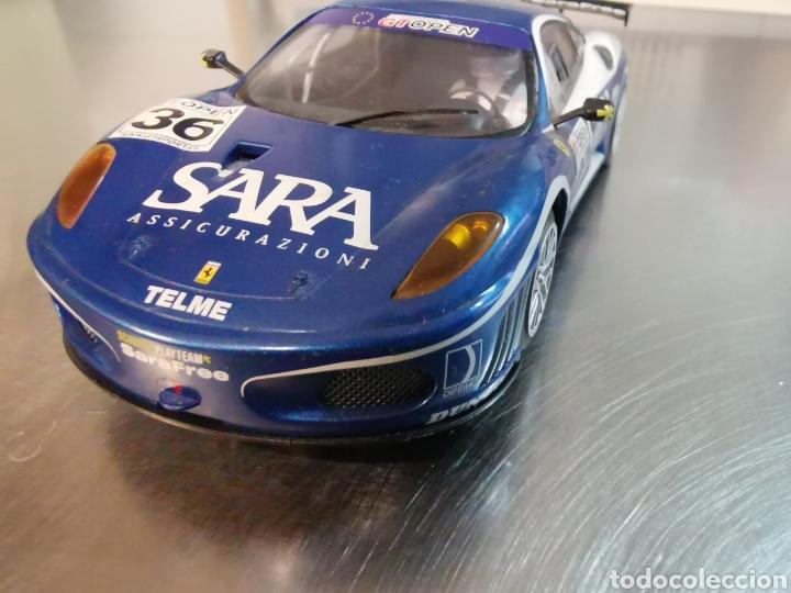 COCHE SCALEXTRIC DE HORNBY FERRARI F40 GT AZUL. Nº36 (Juguetes - Slot Cars - Magic Cars y Otros)