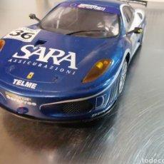Slot Cars: COCHE SCALEXTRIC DE HORNBY FERRARI F40 GT AZUL. Nº36. Lote 218232303