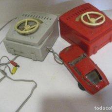 Slot Cars: COCHE CARRERAS TELEDIRIGIDODROMOCAR GIULIA TZ ITALY. 2 MANDOS. Lote 218397437