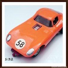 Slot Cars: STROMBECKER RACING SLOT CHEETAH COUPE DRAG CAR. Lote 98161847