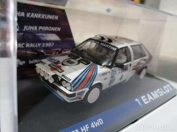 12904 - LANCIA DELTA HF 4WD MARTINI RAC RALLYE 87 DE TEAM SLOT (Juguetes - Slot Cars - Magic Cars y Otros)