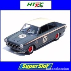 Slot Cars: SUPERSLOT FORD LOTUS CORTINA #77 DONALD / JORDAN GOODWOOD SCALEXTRIC UK H4177. Lote 219701041
