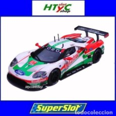 Slot Cars: SUPERSLOT FORD GT GTE #67 DAYTONA 2019 CASTROL DIXON / BRISCOE / WESTBROOK SCALEXTRIC UK H4151. Lote 259939535