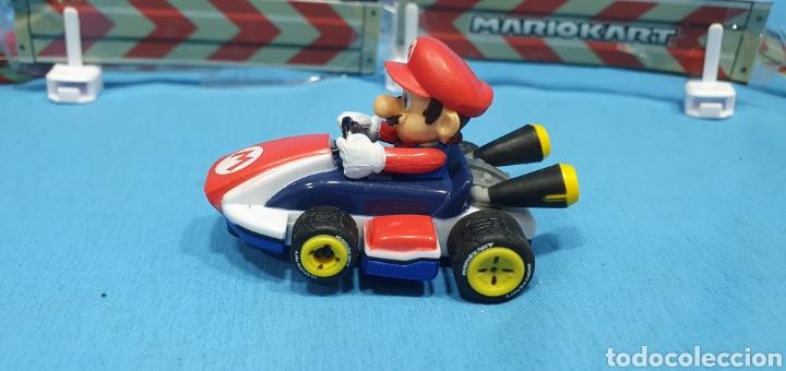 Slot Cars: COCHES SUPER MARIO Y YOSHI- CARRERA - NINTENDO CON DOS MANDOS Y SEÑALIZACIÓN - Foto 4 - 219972821