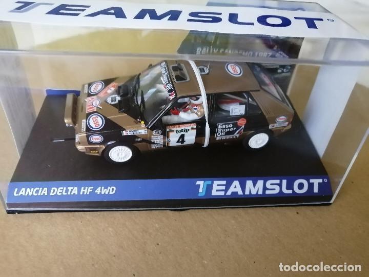 12905 - LANCIA DELTA HF 4WD ESSO RALLYE SAN REMO 87 DE TEAM SLOT (Juguetes - Slot Cars - Magic Cars y Otros)