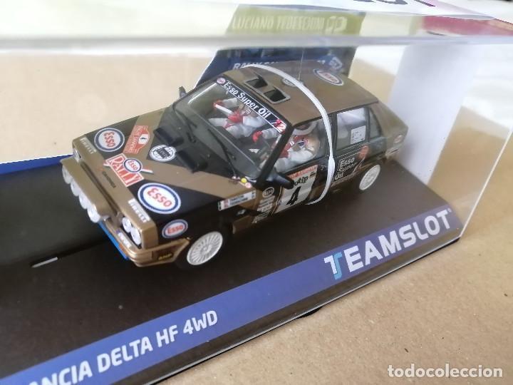 Slot Cars: 12905 - LANCIA DELTA HF 4WD ESSO RALLYE SAN REMO 87 DE TEAM SLOT - Foto 2 - 236446515