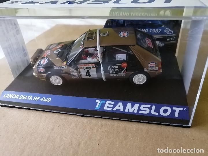 Slot Cars: 12905 - LANCIA DELTA HF 4WD ESSO RALLYE SAN REMO 87 DE TEAM SLOT - Foto 3 - 236446515