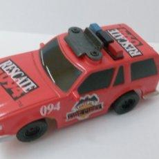 Slot Cars: -RESCUE 094 -FIRE CHIEF -PISTAS AFX AURORA- COMANSI -FORMULA TYCO--1/60 APROX-FUNCIONANDO. Lote 220261631