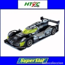 Slot Cars: SUPERSLOT GINETTA G60-LT-P1 BATMAN CAR SCALEXTRIC UK H4140. Lote 220715680