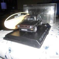 Slot Cars: VOLKSWAGEN GOLF GTI 1978 BLACK , MARCA SPIRIT, COMP SCALEXTRIC. Lote 221359948