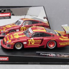 "Slot Cars: PORSCHE 935/78 ""MOBY DICK"" DRM NORISRING 1981 (CARRERA EVOLUTION). Lote 221510441"