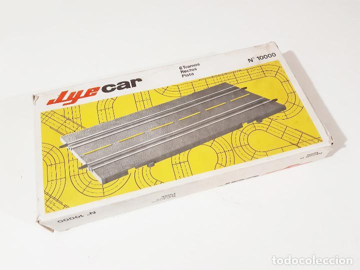 CAJA CON 6 PISTAS DE SCALEXTRIC DE LA MARCA JYESA - JYECAR (Juguetes - Slot Cars - Magic Cars y Otros)