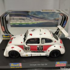 Slot Cars: REVELL UNIROYAL FUN CUP CAR REF. 08386. Lote 221709502