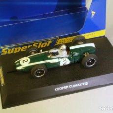 Slot Cars: SUPER SLOT COOPER CLIMAX T53 #2. Lote 221748687