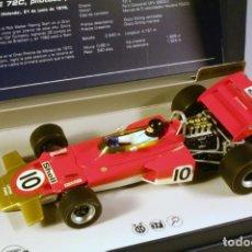 Slot Cars: SUPER SLOT LOTUS FORD 72C JOCHEN RINDT. ZANDVOORT 1970. Lote 221749758