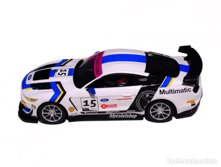 Slot Cars: SUPERSLOT FORD MUSTANG GT4 #15 BRITISH GT 2019 MULTIMATIC SCALEXTRIC UK H4173 - Foto 3 - 221752850