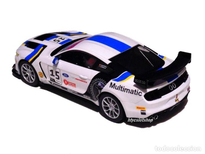 Slot Cars: SUPERSLOT FORD MUSTANG GT4 #15 BRITISH GT 2019 MULTIMATIC SCALEXTRIC UK H4173 - Foto 4 - 221752850
