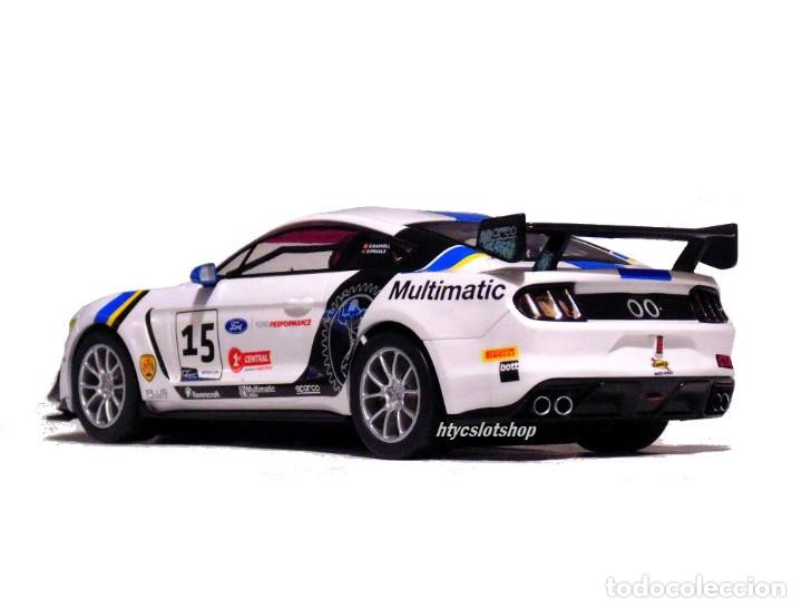 Slot Cars: SUPERSLOT FORD MUSTANG GT4 #15 BRITISH GT 2019 MULTIMATIC SCALEXTRIC UK H4173 - Foto 7 - 221752850