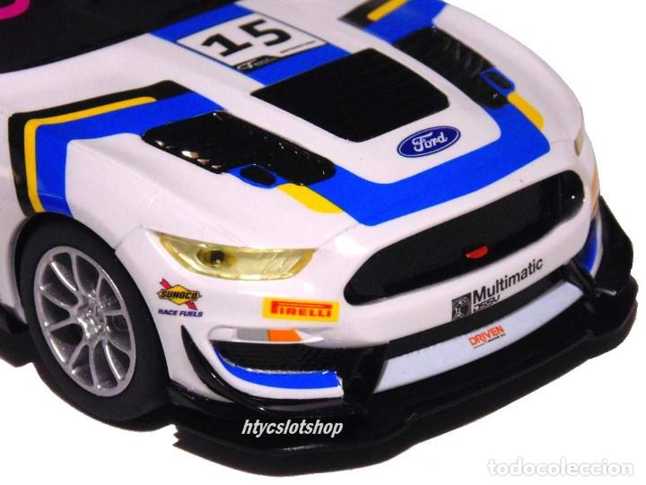 Slot Cars: SUPERSLOT FORD MUSTANG GT4 #15 BRITISH GT 2019 MULTIMATIC SCALEXTRIC UK H4173 - Foto 8 - 221752850