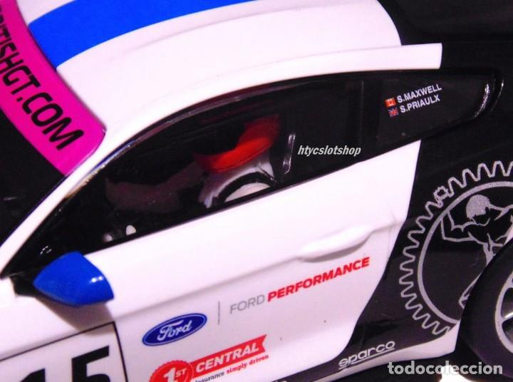 Slot Cars: SUPERSLOT FORD MUSTANG GT4 #15 BRITISH GT 2019 MULTIMATIC SCALEXTRIC UK H4173 - Foto 9 - 221752850