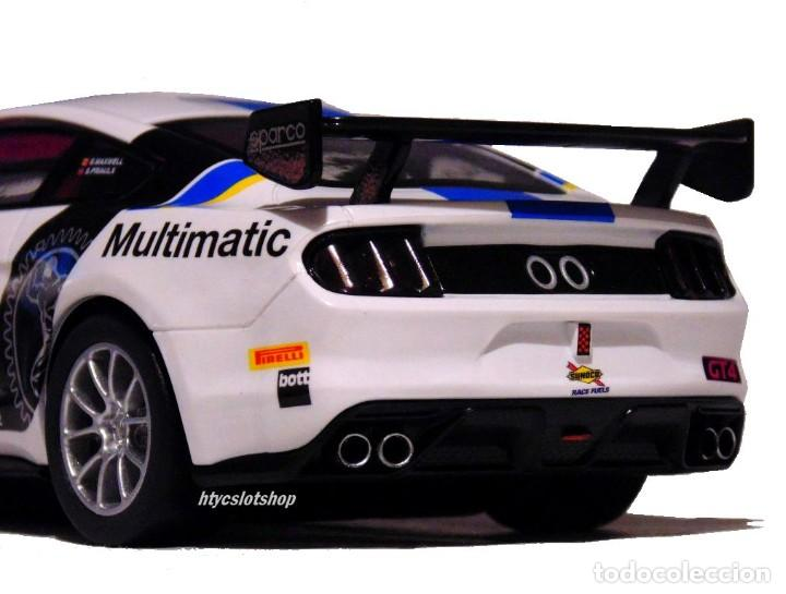 Slot Cars: SUPERSLOT FORD MUSTANG GT4 #15 BRITISH GT 2019 MULTIMATIC SCALEXTRIC UK H4173 - Foto 10 - 221752850