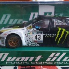 Slot Cars: SUBARU WRC MONSTER DE AVANT SLOT. Lote 221774531