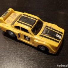 Slot Cars: COCHE TCR CIRCUITO IDEAL TOY BMW AMARILLO. Lote 221782831