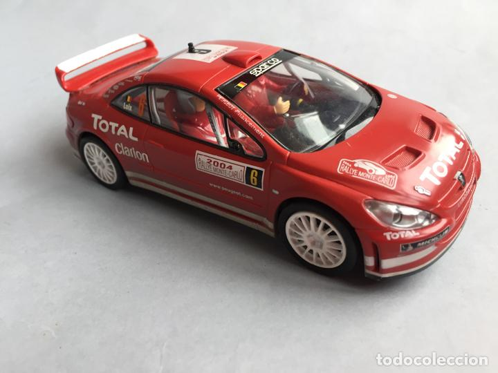 CARRERA SCALEXTRIC PEUGEOT 308 WRC (Juguetes - Slot Cars - Magic Cars y Otros)
