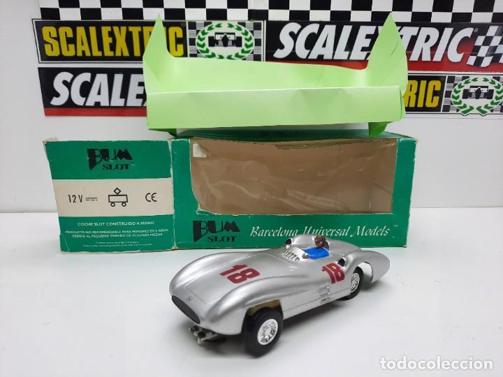 """BUM SLOT MERCEDES W 196 """"STREAMLINER"""" SCALEXTRIC SLOT DE RESINA!!! EDICION LIMITADA. (Juguetes - Slot Cars - Magic Cars y Otros)"""