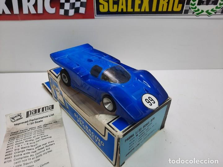 Slot Cars: FERRARI COUPE 412-A PARMA 1/32 SCALE RTR EN CAJA !! SCALEXTRIC - Foto 2 - 222361290