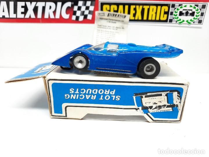 Slot Cars: FERRARI COUPE 412-A PARMA 1/32 SCALE RTR EN CAJA !! SCALEXTRIC - Foto 8 - 222361290