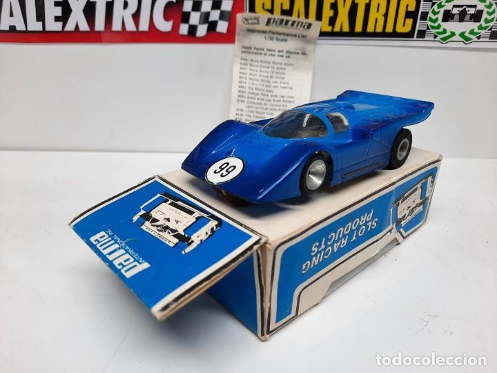 Slot Cars: FERRARI COUPE 412-A PARMA 1/32 SCALE RTR EN CAJA !! SCALEXTRIC - Foto 9 - 222361290