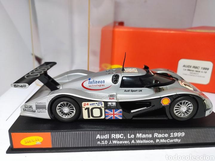 Slot Cars: SLOT.IT AUDI R8C 1999 LE MANS RACE N°10 REF. SICA01f - Foto 3 - 222446591