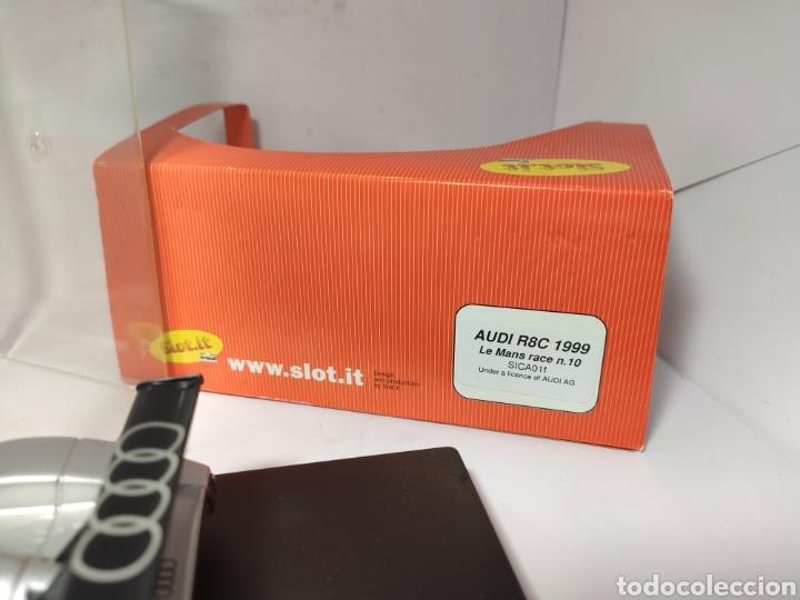 Slot Cars: SLOT.IT AUDI R8C 1999 LE MANS RACE N°10 REF. SICA01f - Foto 6 - 222446591