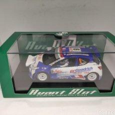 Slot Cars: AVANT SLOT PEUGEOT 207 S2000 IRC 2009 OGIER REF. 50512. Lote 222796150