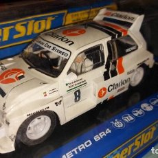 Slot Cars: SUPERSLOT MG METRO 6R4 REF. H3306. Lote 222811317
