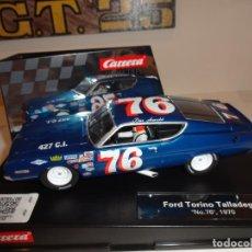 Slot Cars: CARRERA. FORD TORINO TALLADEGA Nº76. 1970. REF. 27616. Lote 222860376