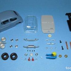 Slot Cars: SLOT 1/32 SEAT / FIAT 600 COLOR AZUL LAVANDA KIT PLASTICO COMPLETO CLASSIC SCALEXTRIC. Lote 223336100