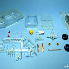 Slot Cars: SLOT 1/32 SEAT / FIAT 600 TRANSPARENTE KIT PLASTICO COMPLETO CLASSIC SCALEXTRIC. Lote 223336806