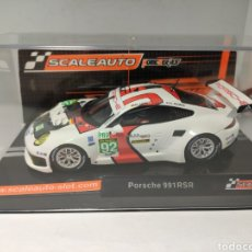 Slot Cars: SCALEAUTO PORSCHE 991 RSR 24 H. LE MANS 2013 N°92 WINNER SERIES REF. SC- 6065. Lote 223352481