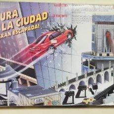 Slot Cars: CIRCUITO AVENTURA EN LA CIUDAD LA GRAN ESCAPADA FAMOPLAY - PRECINTADO!!!!!!!!!!!!!!!!. Lote 223917061