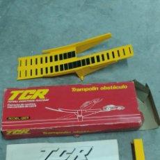 Slot Cars: TCR TRAMPOLÍN OBSTÁCULO REF 7041. Lote 223993237