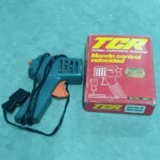 Slot Cars: TCR MANDO CONTROL VELOCIDAD 1980. Lote 223996755