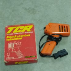 Slot Cars: TCR MANDO CONTROL VELOCIDAD 1980. Lote 223996856