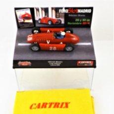 Slot Cars: CARTRIX FORO SLOT MADRID 2014 SERIE LIMITADA A 400 UNIDADES Nº 204. Lote 224324770