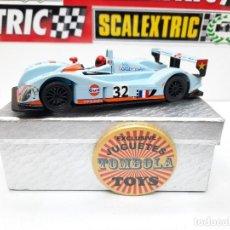 Slot Cars: ZYTEK 2006/7 GULF # 32 SLOTER SCALEXTRIC. Lote 224918466
